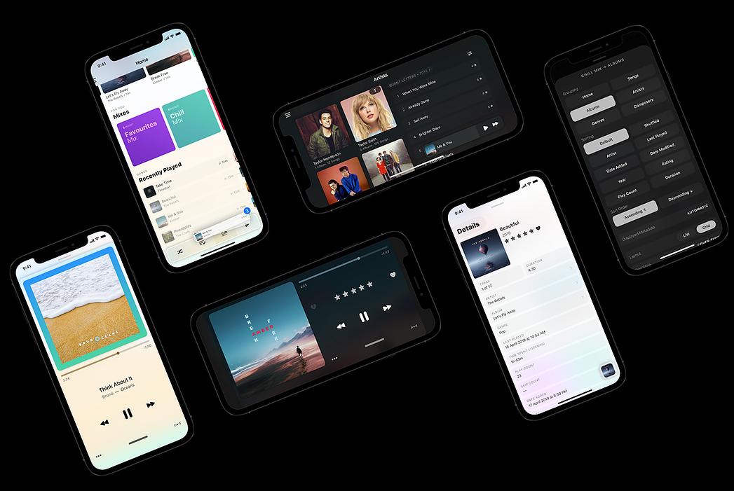 Marvis Pro muziek-app.