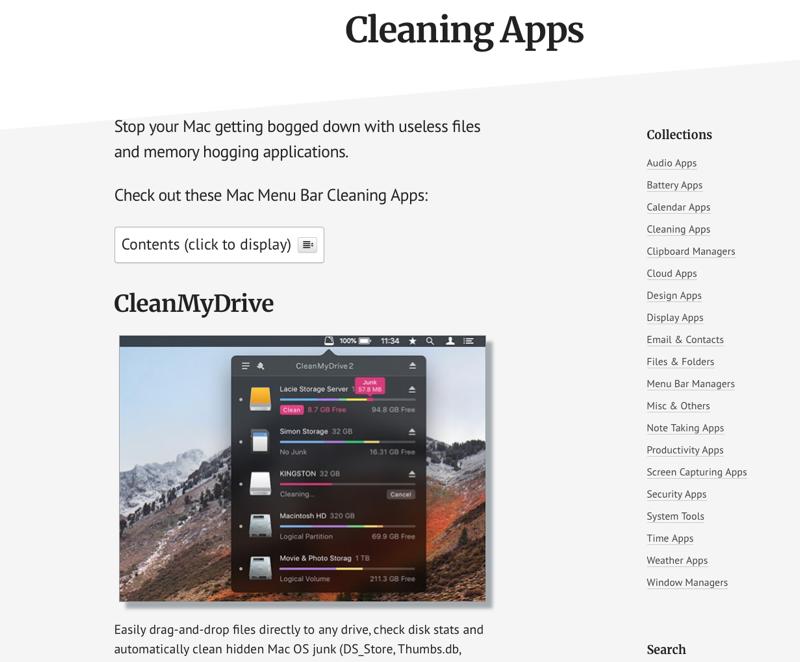 MacMenuBar-apps