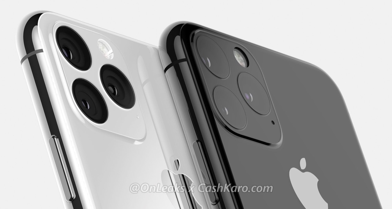 iPhone 11 concept met camera.