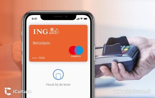 ING met Apple Pay.