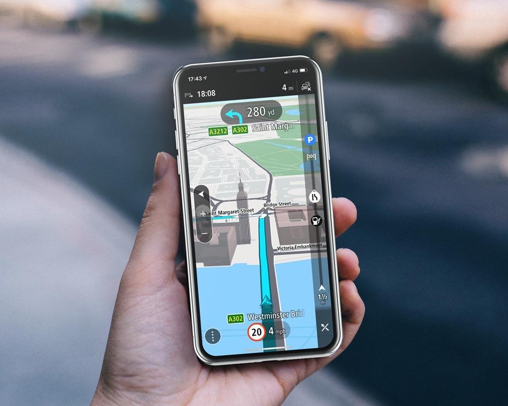 Tomtom Go Navigation Nieuwe Navigatie App Van Tomtom Met Carplay