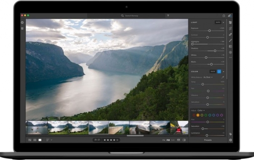 Lightroom CC op MacBook