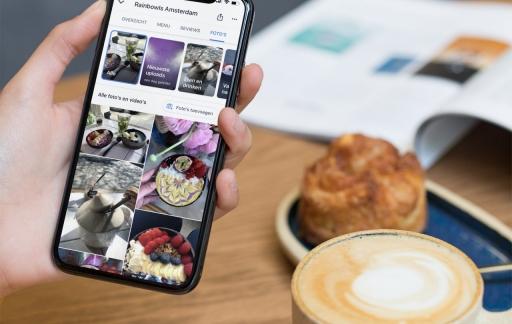Google Maps: restaurant met foto's