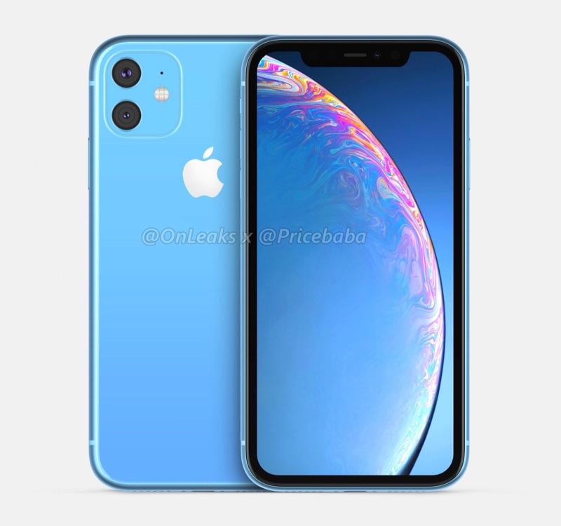 iPhone XR 2019 in blauw.