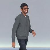 Sundar Pichai podium Google I:O 2019