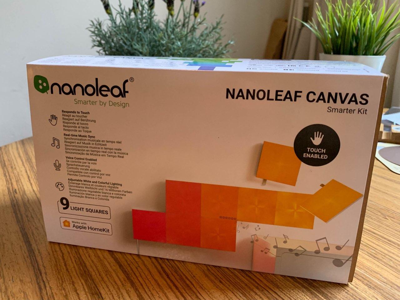 Verpakking Nanoleaf Canvas