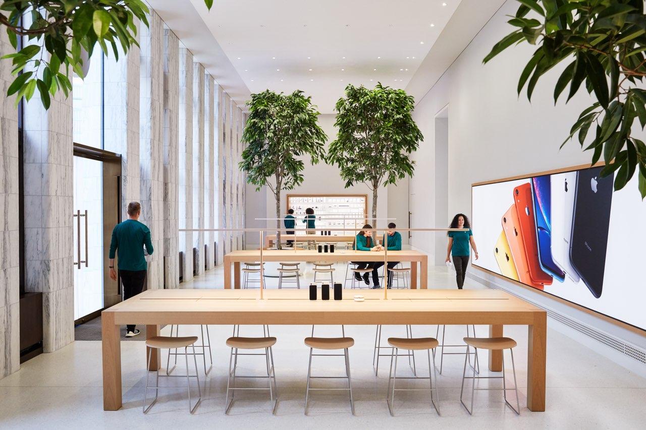 Apple Carnegie Library Genius Grove