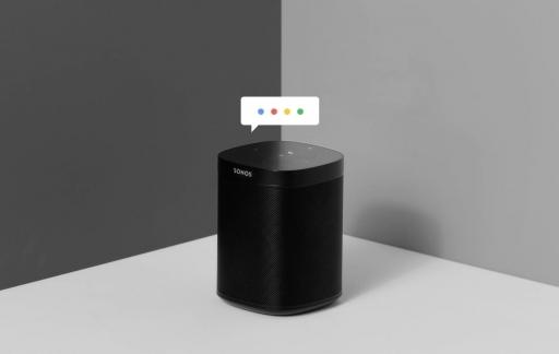 Sonos met Google Assistent