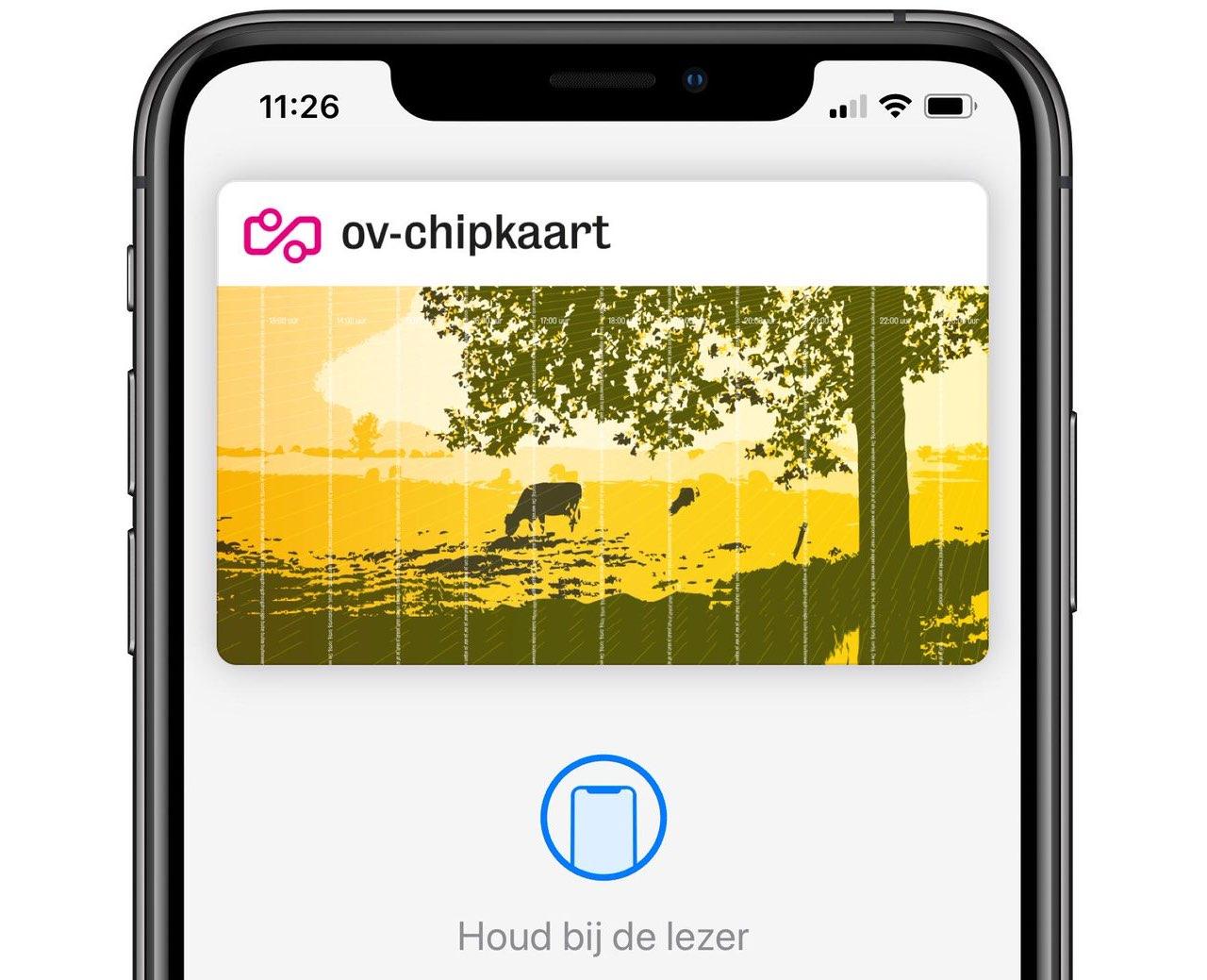 Apple Pay in het OV in Nederland