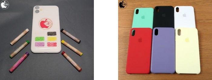 Kleuren iPhone XR opvolger groen lavendel