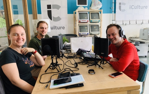 iCulture podcast-team