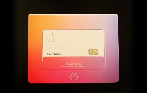 Apple Card-verpakking