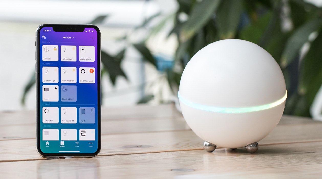 Homey-bol en app