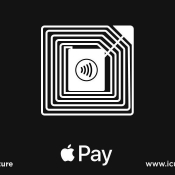 Apple Pay stickers.
