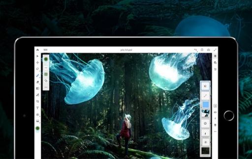 Photoshop CC voor iPad