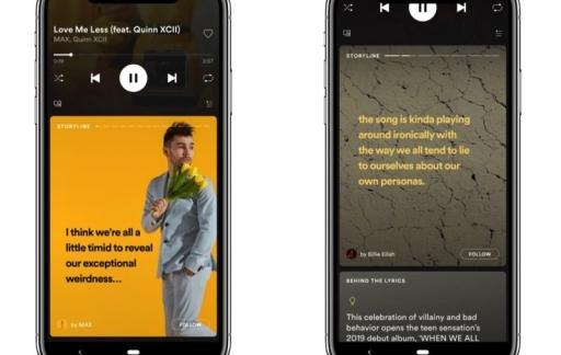 Spotify Storyline