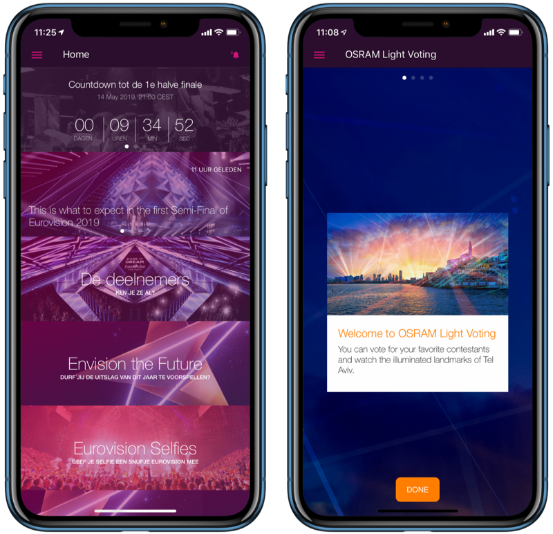 Eurovision Songfestival 2019-app.