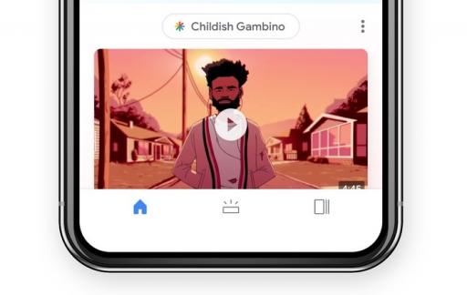 Google Discover op iPhone