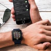 Apple Watch pincode instellen