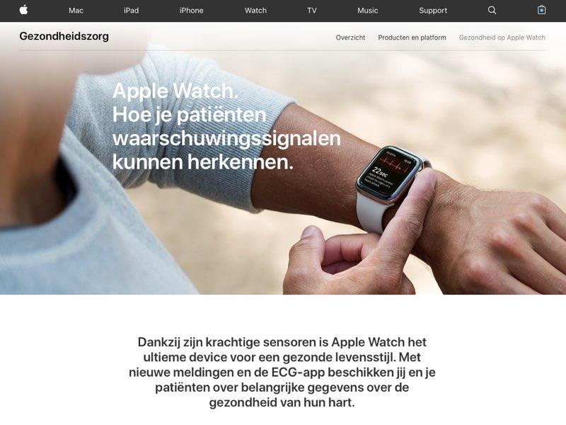 Apple Watch gezondheid artsen