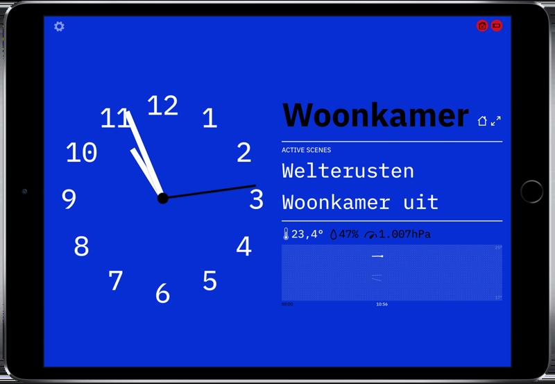 Wallflower voor HomeKit thema's.