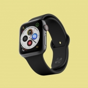 Complicaties op een Apple Watch-wijzerplaat.