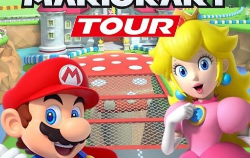Mario Kart Tour-artwork.