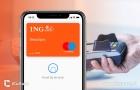 ING-kaart met Apple Pay.