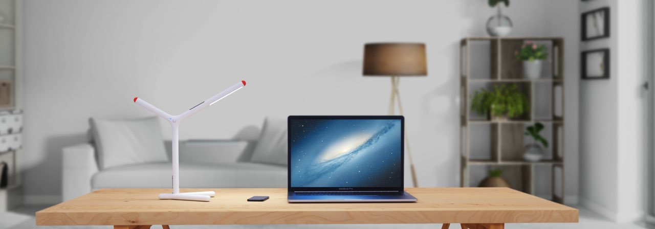iHaper bureaulamp met HomeKit