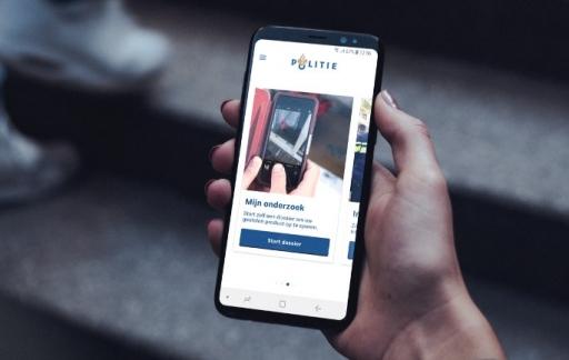 Politie-app 'Mijn onderzoek'