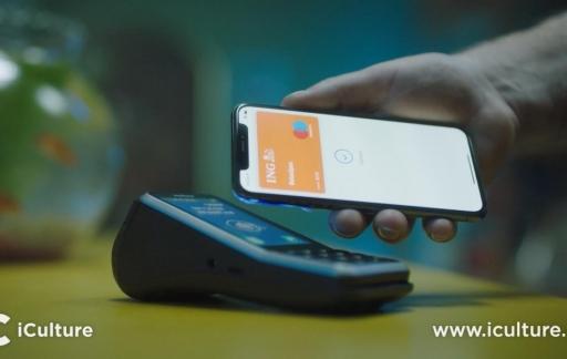 Betalen met Apple Pay bij ING.