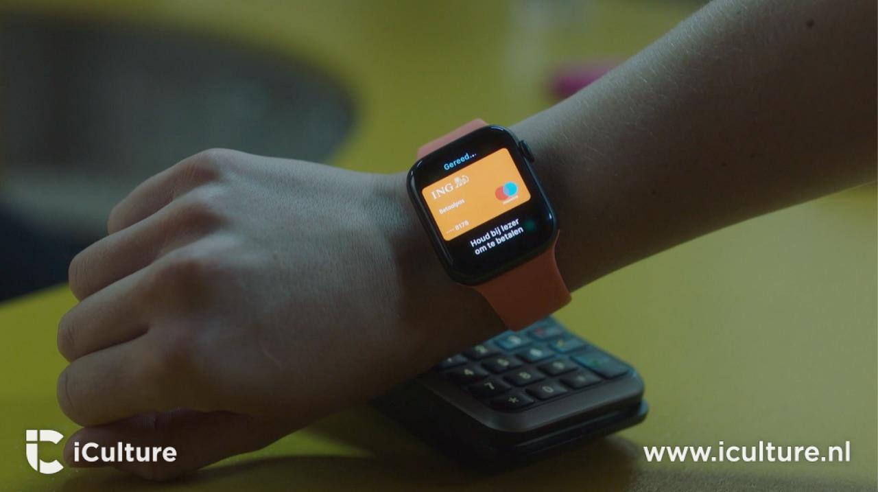ING met Apple Pay op Apple Watch.