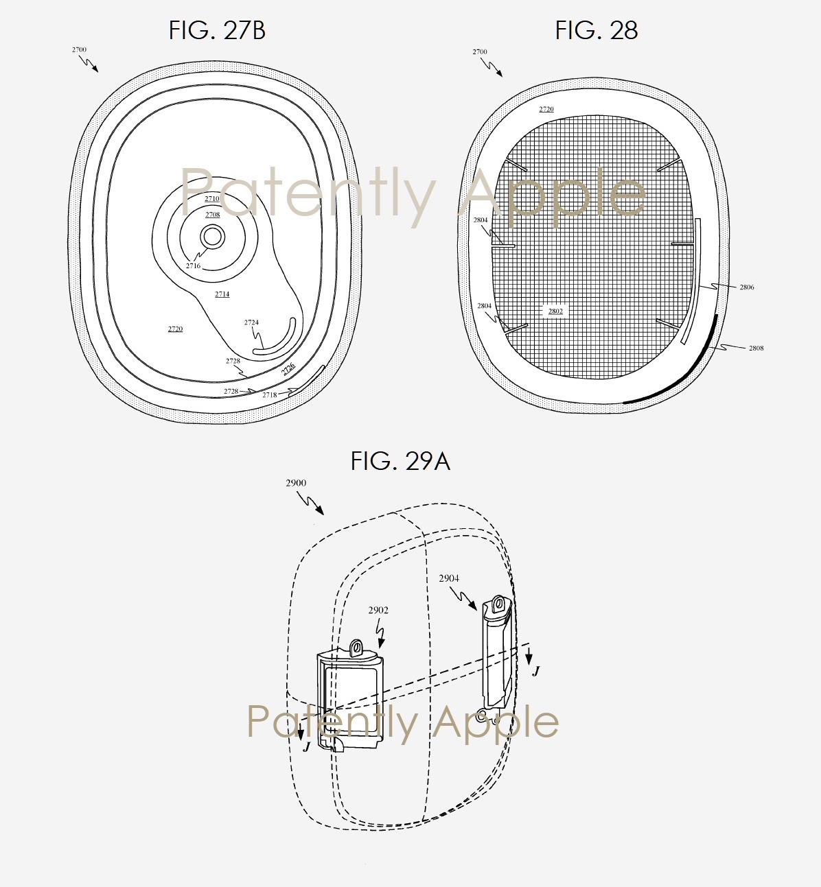Apple koptelefoon met aanraakbediening in patent.
