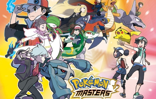 Pokémon Masters artwork.