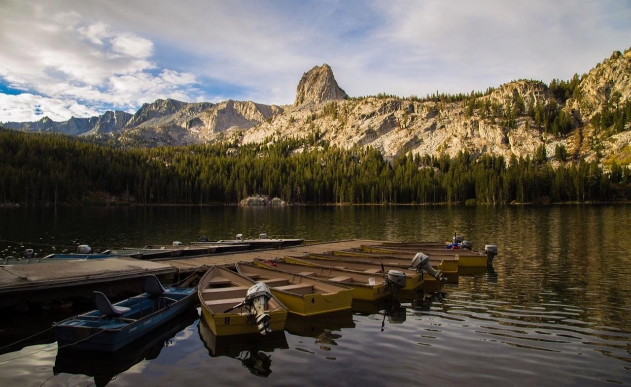Mammoth Lake.