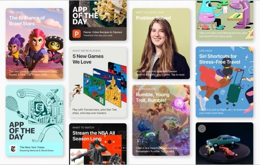 App Store verhalen van ontwikkelaars.