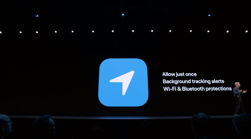 iOS 13 locatie