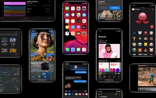 iOS 13 functies overzicht.