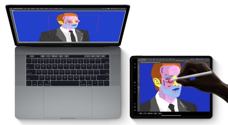 Sidecar in iPadOS en macOS Catalina