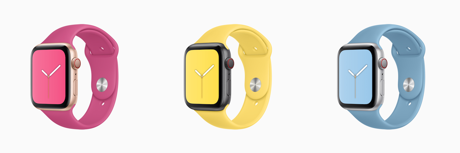 Apple Watch sportbandjes zomerkleuren 2019