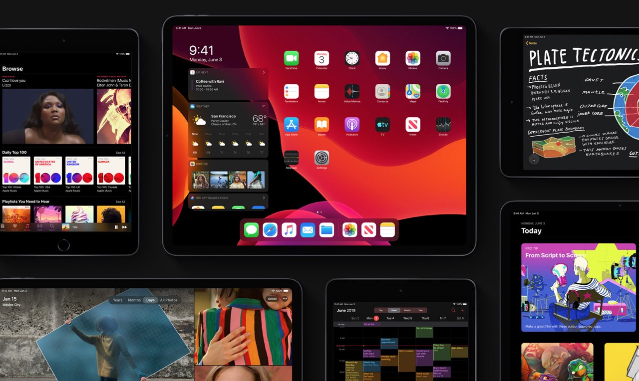 iPadOS Dark Mode