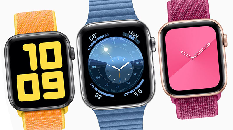 Apple Watch wijzerplaten in watchOS 6