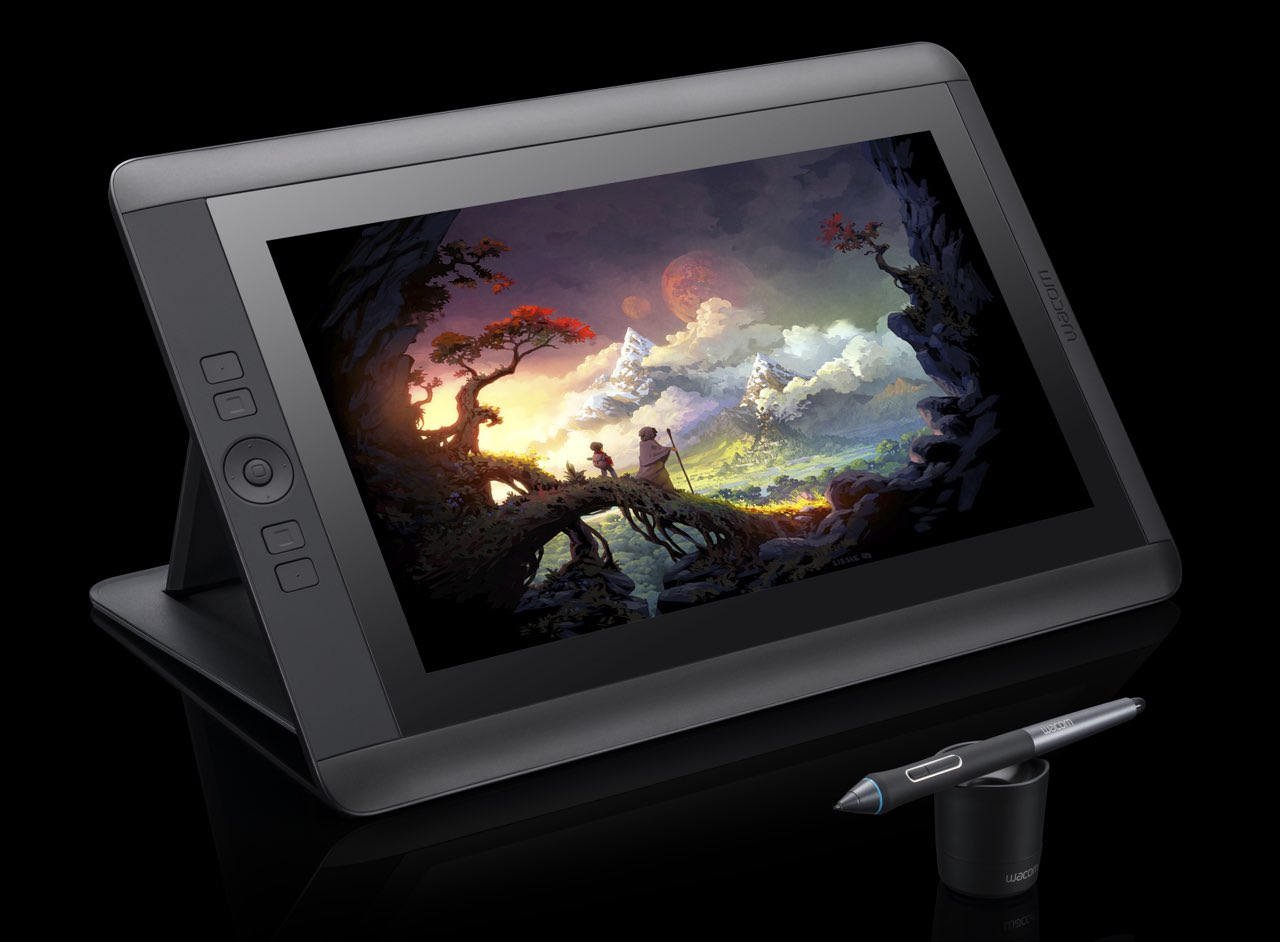 Wacom Cintiq tablet