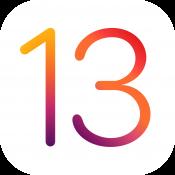 iOS 13 logo.