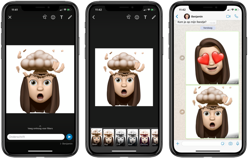 Memoji Stickers WhatsApp