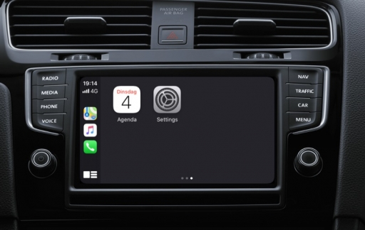 CarPlay Agenda in iOS 13.