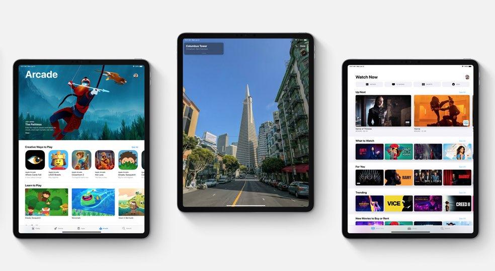 iPadOS 13 functies