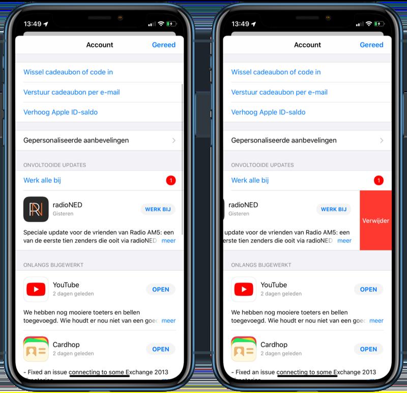 iOS 13 app-updates.