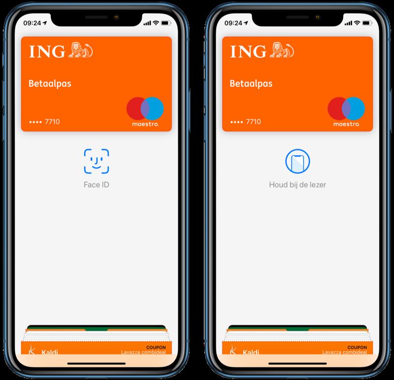 Apple Pay bij ING gebruiken.