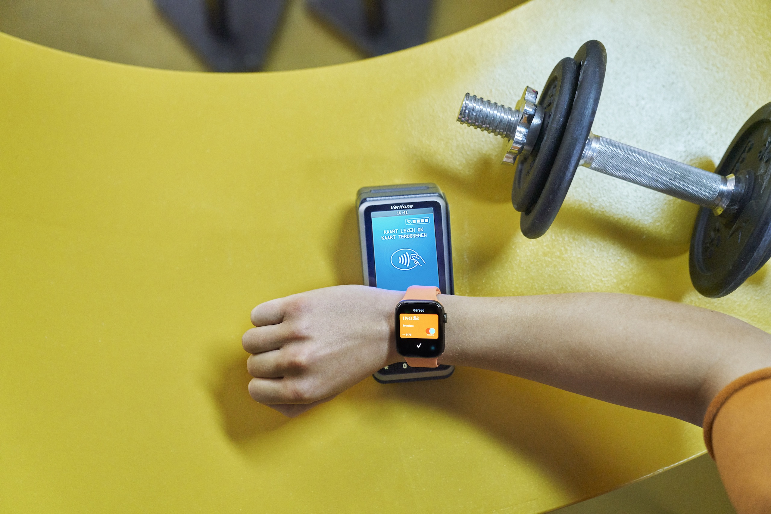 ING Apple Pay met Apple Watch